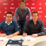 RT @ForzaPECZwolle: Diederik Boer heeft vanmiddag zijn driejarige contract ondertekend bij Ajax. http://t.co/JhaVpBBpku