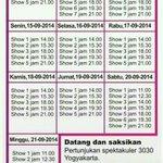 """#Jogja 12-21/9/2014 di Mandala Krida #3030JGJ """"3030 Jogja Show"""" Info: http://t.co/llhR1Nnj8g via @3030jogja http://t.co/KQgZxyvyY5"""