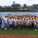 RT @Cubs: #Cubs and #JRW took a team photo at Wrigley Field today. #OneCity http://t.co/Bgz0QiVIxR