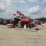 Our tailgate has joined up with the @TheRed_Rage http://t.co/duahEkmfbu