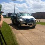 The car used in the kidnapping of Katelyn Beard has been towed away from Dutchman Row. http://t.co/e2eIuULUsa