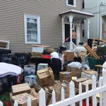 RT @BostonTweet: Front yard gone. Pratt Street. #AllstonChristmas http://t.co/5tNrJCR0oy