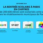 Bonne rentrée à tous les Parisiens! Que cette nouvelle année scolaire soit source d'épanouissement pour eux! http://t.co/3xSBB52DHd