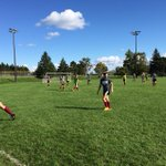 RT @UMDAthDir: @UMDSoccer working hard this afternoon getting ready for next weeks opener. #BulldogCountry http://t.co/xwPrGDsutw