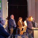 El equipo del @PNACIONAL @luislacallepou y @jorgewlarranaga en el acto de lanzamiento de la @lista2014 Montevideo http://t.co/a6NtfZaWH8