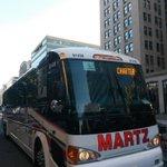 #CopaCA | Autobús de #ElSalvador espera jugadores para ir a primer entreno en Washington (Foto @APhotografiA) http://t.co/mTNORF498C