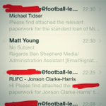 And for the cynics thinking its getting dragged out for drama, heres the emails to the authorities #rufc #late http://t.co/RbvYAls8et