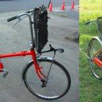 RT @sasakitoshinao: 災害時に高齢者や障害のある人を避難させる手段として開発。買い物の歳に荷物運搬車としても使える。他にもいろいろ使い道あるかも。/自転車が車椅子にトランスフォームする自転車「Q-jo」 http://t.co/1aC4QtE8NJ http://t.co/MY5F9rWOFF