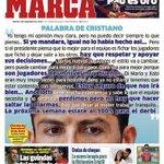 Palabra de Cristiano #Laportada http://t.co/6SydrvwbFC