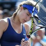 ICYMI: Eugenie Bouchard knocked out of #USOpen http://t.co/m8F7kV2U7X http://t.co/XRBN2HbVth