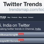 #WhyNoOneLikesActorAjith Truth trends on top while the psychs tag is just behind the top-most tag asusual http://t.co/cP5vj5mO74