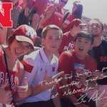 @LaGerkk Thanks #Huskers. There truly is #NoPlace like Nebraska. #GBR http://t.co/GdGhV0RcNC