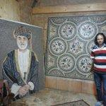 هدية من هيثم حيدر اللبناني ومن الحجر الطبيعي والتي نقش عليها صورة جلالته ابقاه الله http://t.co/gXhQ7Zw7Rx