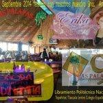 Festeja con nosotros nuestro 9no. Aniversario 7 Septiembre @PalapasTlaxcala #Palapizate #Tlaxcala @ImaginaTlaxcala http://t.co/Qn1f8ymYhI
