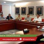 Gobernador @ferortegab encabeza con autoridades federales y estatales, reunión de evaluación en materia de seguridad. http://t.co/qPCXInSegK