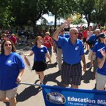 Marching in #mnstatefair #LaborDay Parade w/St. Paul RLF, @EducationMN @7007 @SPFT28 @MFT59 & more! Happy Labor Day! http://t.co/Hyp235KTrf