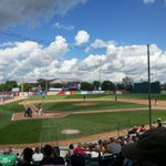 Perfect afternoon for a baseball game! Go @FMRedHawks #Fargo #Laborday http://t.co/0n6NGMW4RQ