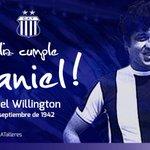 Un día como hoy, pero de 1942, nacía Daniel #Willington, uno de los máximos ídolos de #Talleres #FelizCumpleDaniel http://t.co/SPIMVTVflk