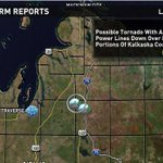 RT @wzzm13: Possible tornado reported in northern Mich. Caught in storm? send photos to news@wzzm13.com http://t.co/LjCkHajdax http://t.co/L2x4xNWjQo