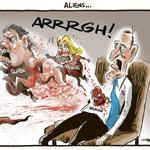 RT @rodemmerson: Aliens!!! - CARTOON in todays @nzhpolitics #dirtypolitics http://t.co/3lzIpzGcr6