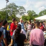 72 Estudiantes con los mejores promedios de los liceos del Estado Anzoátegui, viajaron a la ciudad de Puerto Ordaz. http://t.co/UyemGWZcTs