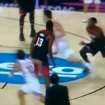 VIDEO: James Harden played horrific help defense for Team USA on this play vs. Turkey http://t.co/fvMoqLMnQ2 http://t.co/ZAI40pru9Y