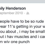 RT @emilyhenders0n: #TipsForYear7s just dont under any circumstances, be like what I was like✋ http://t.co/1ahgCx2axB