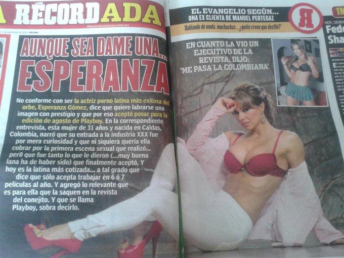 RT @erickdf14: @esperanzaxxx la reina latina del porno en todos lados saludos desde Ciudad de México