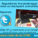 Participa un backpack universitario puede ser tuyo Dale RT y menciona a un amigo. http://t.co/LzeTOGyosa