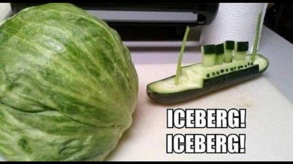 The Titanic - no singing RT @CambsFruitCo: Ha. We love this! http://t.co/HExC5JxRr2