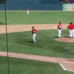 RT @deckholm: @FMRedHawks Laber leaves after a leadoff single. #winning http://t.co/Qs2feW7SSr