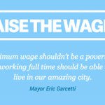 RT @LAMayorsOffice: Its time 2 #RaiseTheWageLA Add your name to help lift 1mil Angelenos out of poverty http://t.co/WUnpJTMwQp #LaborDay http://t.co/DuKhiRMVBA