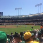 """Right before Adam Dunn hits a 2R homer a guy next to me at the Oakland Coliseum screams : """"Get er Dunn."""" Indeed. http://t.co/UXG4OG8QS2"""