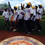 RT @Cubs: Nice job on the 7th inning stretch by our special guests from Jackie Robinson West! #JRW http://t.co/tj2jaetSte