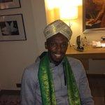 RT @usainbolt: Namaste from India http://t.co/2PK9QnEH9i