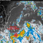 RT @conagua_clima: La Depresión Tropical #CINCO presenta vientos de 45 km/h con rachas de 65 km/h http://t.co/XV7ykqdtIq