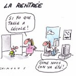 RT @ornikkar: Lécole, cest vachement important ! #Rentrée http://t.co/wcf5OJ4SKv