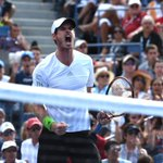 RT @BBCSport: Andy Murray beats Jo-Wilfried Tsonga 7-5 7-5 6-4 to reach US Open quarter-finals #bbctennis http://t.co/GRDDQhZWwa http://t.co/Lw9mpwaFap
