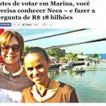 """RT @RodP13: Levy Fidelix lembra que há uma candidata (Marina) que """"anda muito com sonegadores""""! #Dilma13MaisEmprego não! http://t.co/Va5rCwbPlD"""