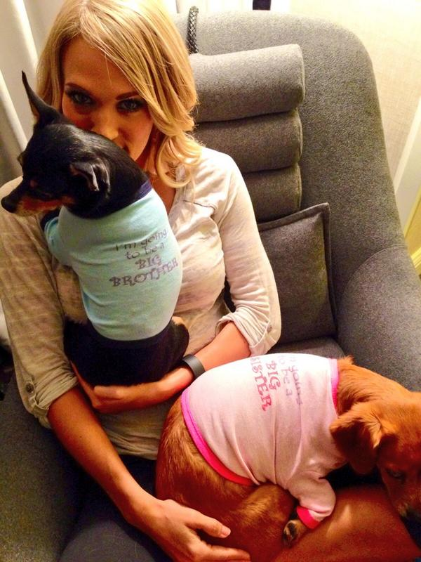 Image result for carrie underwood pregnancy reveal
