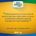 """RT @AecioNeves: Aécio: """"O Brasil precisa de um novo ciclo de governo"""". #EquipeAN #SomosMaisAecio http://t.co/DrvsdQmfwI"""