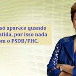 Corrupção só aparece quando ela é combatida, por isso nada era visto com o PSDB/FHC #Dilma13MaisEmprego http://t.co/Wu0r7pxFWs