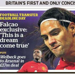 "RT @DeadlineDayLive: Falcao has described his move to Manchester United as a ""dream come true"". (Source: Independent) http://t.co/5O7KvoeU1V"