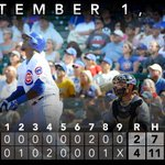 RT @Cubs: Jorge Soler picks up two extra-base hits in Wrigley debut as #Cubs defeat #Brewers. Recap: http://t.co/RlKvHCfbTs http://t.co/DRbMJ1peFc