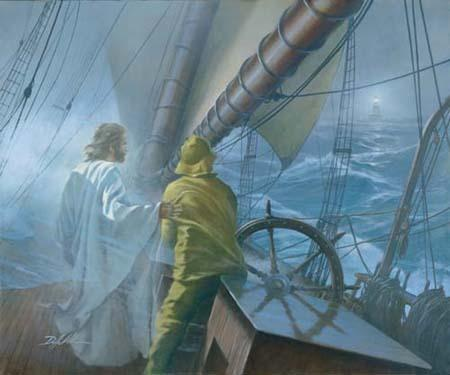 With Christ by our side Journey's better than before He will guide us true Until we reach distant shore