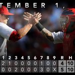 RT @Cardinals: RECAP: #STLCards take sole possession of 1st place in the NL Central with win over Pirates. http://t.co/U4zuIlEr27 http://t.co/gc4AuRuKhz