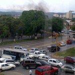 #ReporteTránsito: congestionamiento vehicular en Av. Venezuela con Av. Morán tras concentración. Vía @jhelenq http://t.co/I7quF7djwD