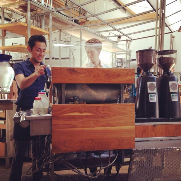 Shoutout to those on bar, who's labor of love is serving specialty coffee. Happy #LaborDay. http://t.co/OmN2xcUOpR