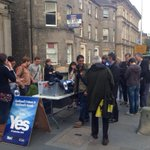 Another great turn out for canvassing in Leith with more than half being first-time volunteers. #ActiveYes #indyref http://t.co/3iGmkrSsPZ