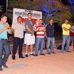 Inaugurando el torneo de basquetbol de los barrios http://t.co/G1GaeUJYXS